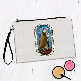 Gift Makeup Bag: Saint Clement I Catholic