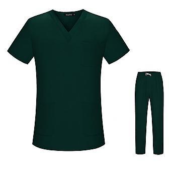 Nursing Uniform, Medical Women Set Uniform Clothes Scrub Tops Pants