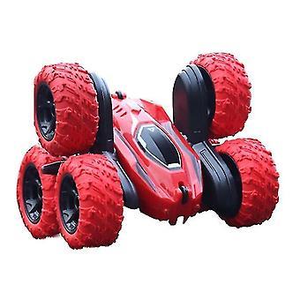 2.4Ghz carros rc seis rodas rastreado carro pulando carro 360° flip rc veículo brinquedos dublê deformação à deriva