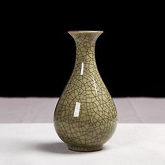 1 st keramisk vas, godisfärg vas, blomma arrangemang flaska
