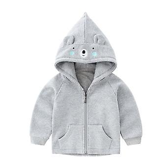 Veste en coton à capuche pour bébé