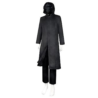 Squid Game Boss Costume + Mask + Gloves, Adult Trench Coat