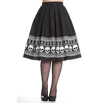 Hell Bunny Clara Skirt L