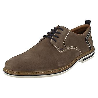 Mens Rieker Smart Casual Lace Up Shoes B1421