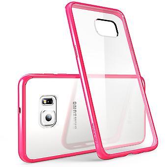 i-Blason Galaxy S6 Edge Plus Halo Series Clear Case - Pink