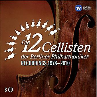 12 Cellisten - 12 cellisten van de Berlin Philharmonic Orch [CD] USA import