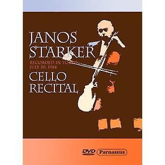 Janos Starker - Janos Starker Cello Recital [DVD] USA import