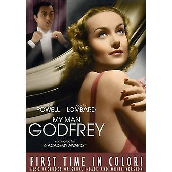 My Man Godfrey [DVD] USA import