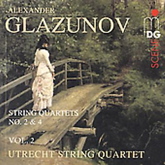A. Glazunov - Glazunov: String Quartets, Vol. 2 [CD] USA import