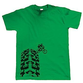 T-shirt single Track - DH Mountain Bike MTB Downhill - Choix de couleurs