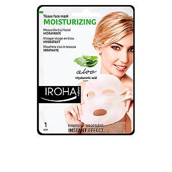 Iroha Gewebe zu maskieren, feuchtigkeitsspendende Aloe + grüner Tee + Ginseng + Ha für Frauen