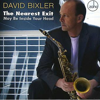 David Bixler - Nearest Exit May Be Inside Your Head [CD] USA import