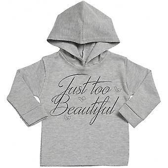 Spoilt Rotten Too Beautiful Cotton Hoodie