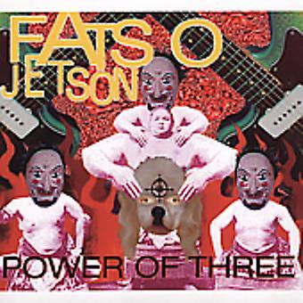 Fatso Jetson - Power of Three [CD] USA import