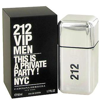 Carolina Herrera 212 VIP mænd Eau de Toilette 50ml Spray