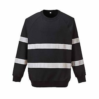 sUw - イオナ安全作業服セーターやあ Vi 反射テープ