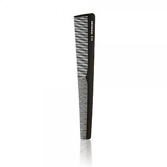 Salon Services Black Carbon Barber Comb C78