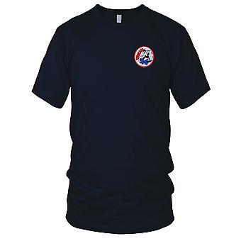 US Navy VF-100 luftfart Fighter Squadron WWII broderet Patch - Herre T-shirt