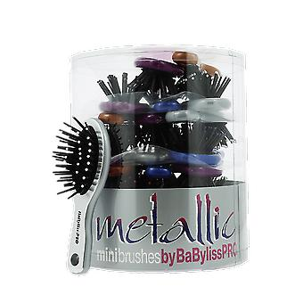 BaByliss Pro Metallic Mini Brushes (24)