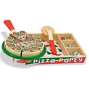 Melissa & Doug Wooden Pizza Set