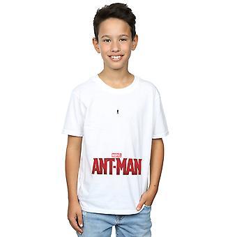 Marvel Boys Ant-Man Ant Sized Logo T-Shirt