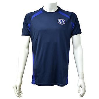 Chelsea FC Herre officielle Navy Panel T-Shirt