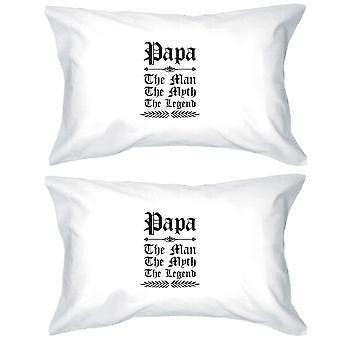 ヴィンテージ ゴシック パパ綿枕カバー クイーン サイズの素敵な