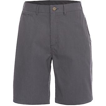 Hausfriedensbruch Mens Atom gewebte Baumwolle längere Länge gestreift lässige Shorts