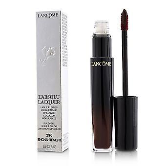 لانكوم L & absolu لاكور تألق قابل للبناء & لون لون الشفاه Longwear اللون - # 296 Enchantement - 8ml/0.27oz