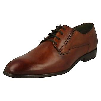 Mens Bugatti Formal Lace Up Shoes 311-41901-1100-6300