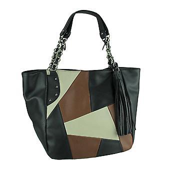 Carlos by Carlos Santana Kloe Womens Chain Handle Shopper Bag