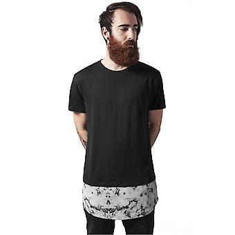 Urban classics T-Shirt long shaped marble tea