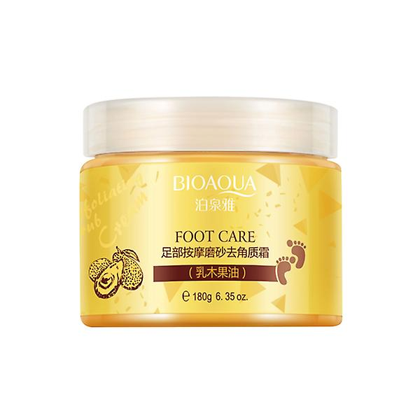 Moisturizing exfoliation scrub foot cream