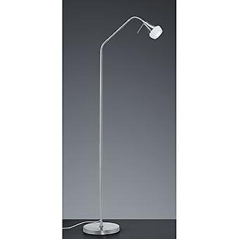 Trio Lighting Trumpet Modern Nickel Matt Metal Floor Lamp