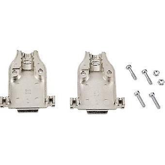 TE Connectivity AMPLIMITE HD-20 (HDP-20) D-SUB obudowa Liczba pinów: 25 Metal 180 ° Silver 1 szt.)