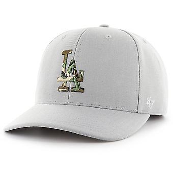 47 Brand Adjustable Cap - CAMOFILL LA Dodgers steel grau