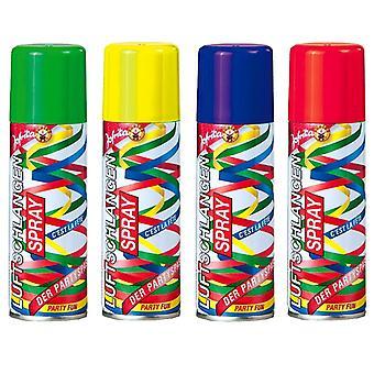 Streamer spray