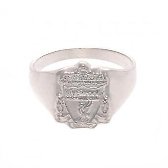 Anillo de plata esterlina de Liverpool grande