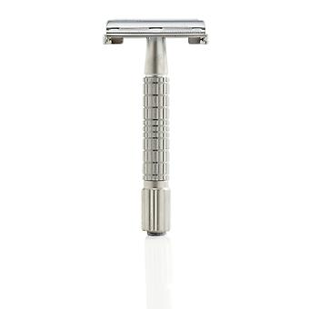 Timor 1320 Safety Razor - Mat Chroom