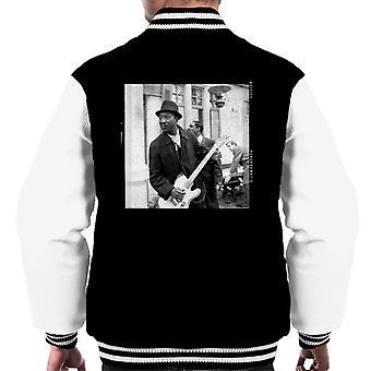 TV volte Muddy Waters Blues e Gospel Train 1964 Varsity giacca uomo