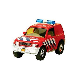 Auto Brandweer met Aanhanger