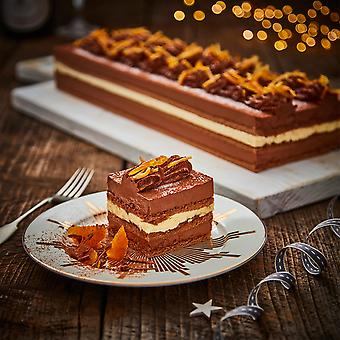 Country Range Frozen Chocolate and Orange Bar Gateau