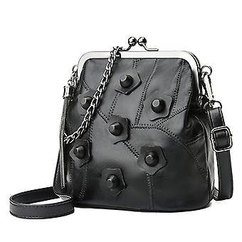 Shoulder bag in genuine lambskin LAMM8061