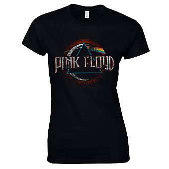 Pink Floyd - Dark Side Of The Moon New Logo Women T-Shirt