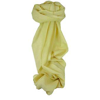 Cashmere fino cachecol Karakoram pássaro-olho Weave Jonquil por Pashmina & seda