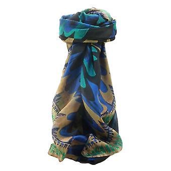 Mulberry Silk contemporane pătrat eșarfă abstract A313 de pashmina & Silk