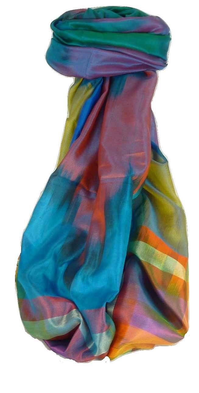 Varanasi Ekal Premium Silk Long Scarf Heritage Range Tiwari 6 by Pashmina & Silk