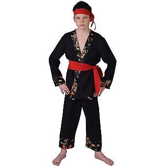 Bambini costumi abito Ninja karate per ragazzi