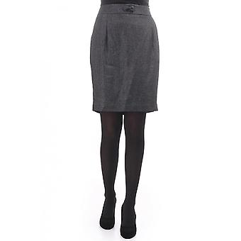 By Malene Birger Womens Skirt With Silver Stitching