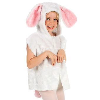 Rabbit Fur Tabard, Unisex Age 3-8.